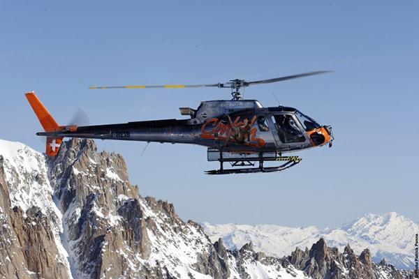 Chamonix Mont Blanc Helico